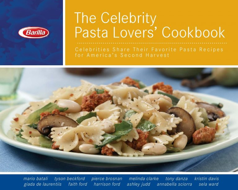 The Celebrity Pasta Lovers' Cookbook