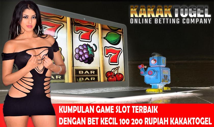 Kumpulan Game Slot Terbaik Dengan Bet Kecil 100 200 Rupiah Kakaktogel