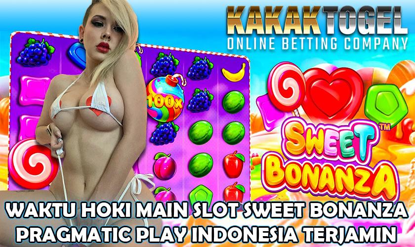Waktu Hoki Main Slot Sweet Bonanza Pragmatic Play Indonesia Terjamin