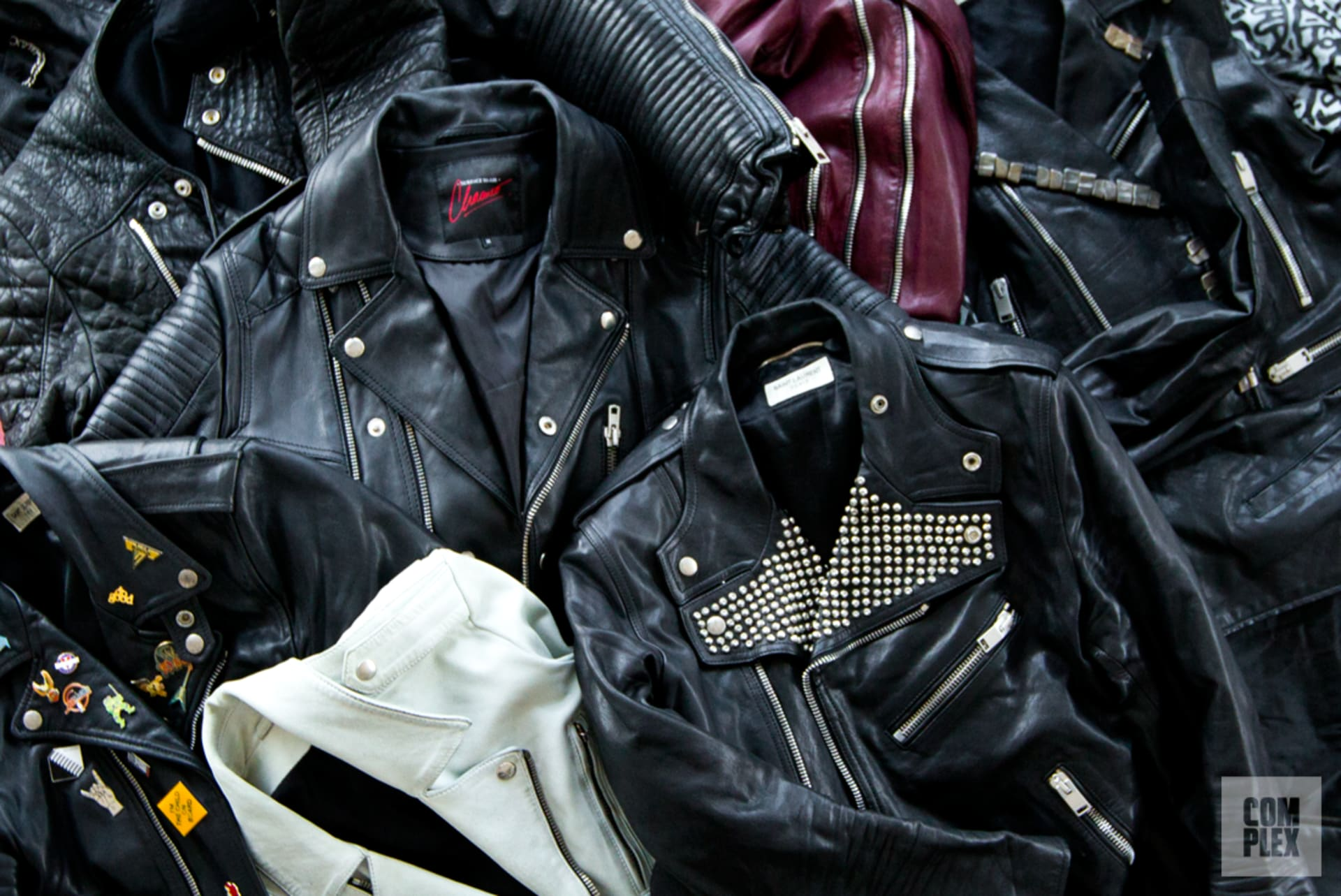 styling up a leather jacket